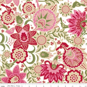 Carina Gardner - Songbird - Songbird in Red: Songs Birds, Cribs Sheet, Birds Cotton, Songs Hye-Kyo, Baby Girl, Shower Curtains, Riley Blake, Girls Nurseries, Carina Gardner