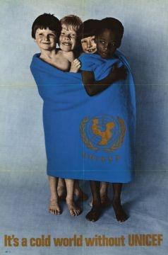 A UNICEF poster circa 1970