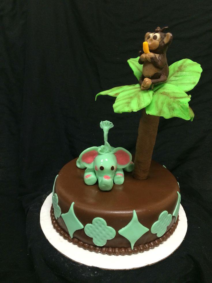 Chocolate Babyshower cake