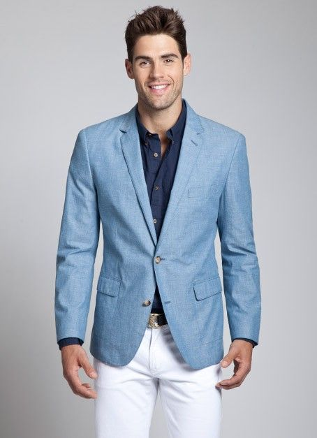 The 25  best Light blue blazer mens ideas on Pinterest | Preppy ...
