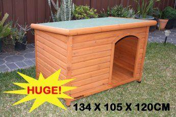 Super Large Wooden Dog Kennel Comfort