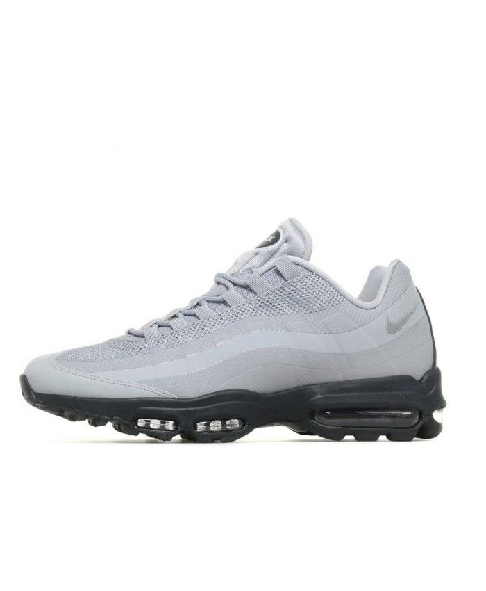 the latest d20e3 1c654 Nike Air Max 95 Ultra Essential Grey Black Shoes