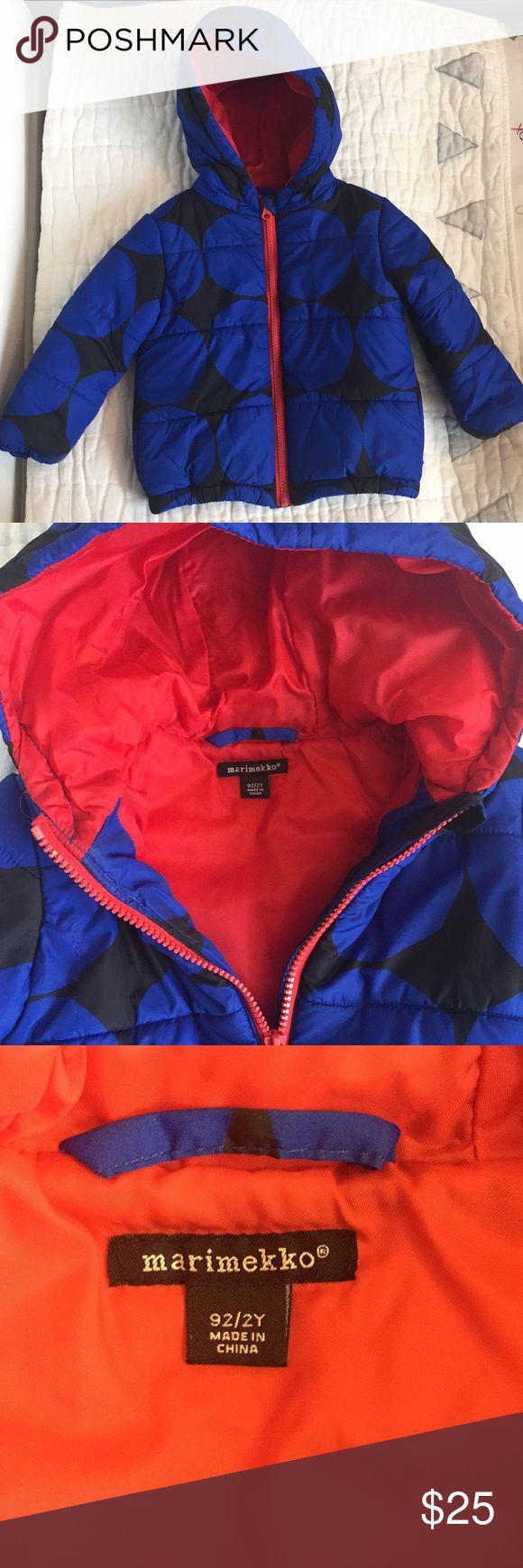 Marimekko puffer jacket Red puffer jacket, Jackets