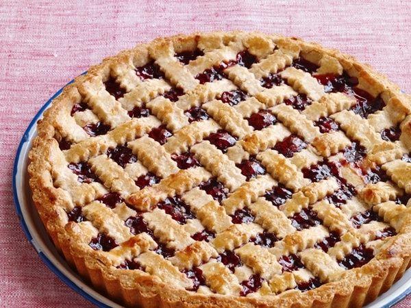 Вишневый пирог из замороженной вишни