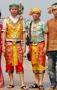 Thailand national costume for men