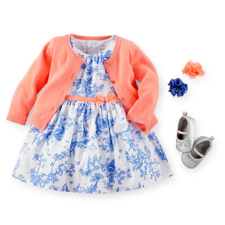 Baby Girl Sunday Blooms | Carters.com