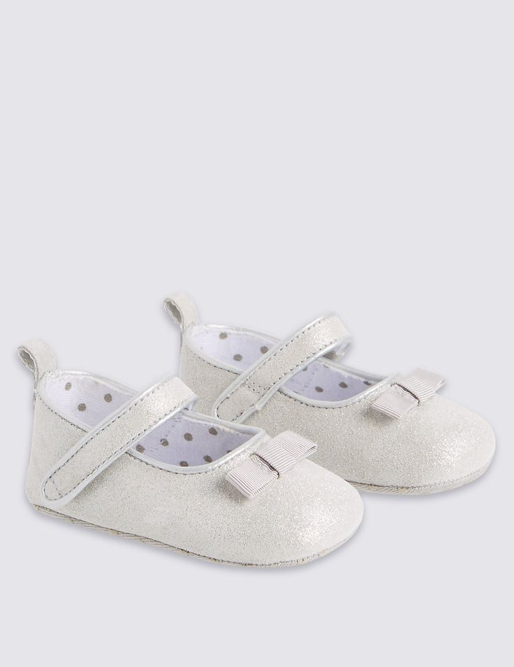 Kids' Leather Mary Jane Pram Shoes