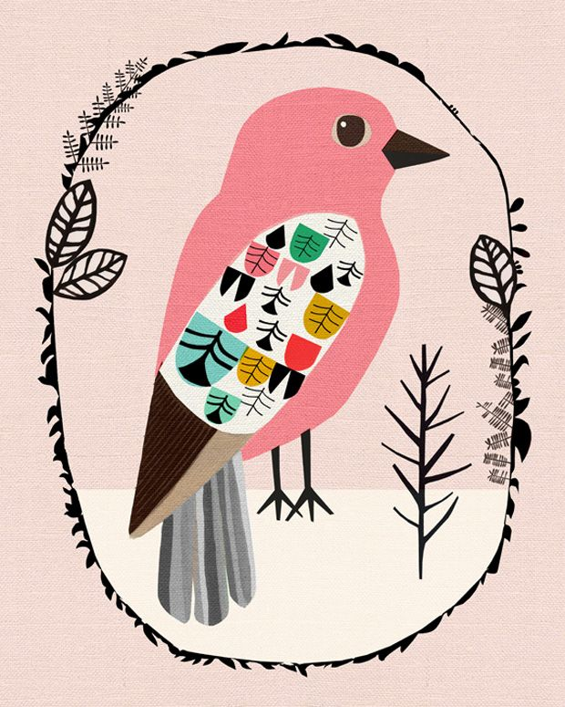 Inspire-se com formas orgânicas, criações vibrantes, padrões, estampas e ilustrações coloridíssimas criadas pelo estúdio Inaluxe, da Austrália.