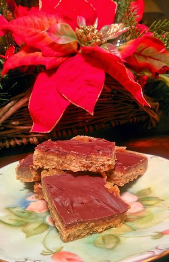 Dabbling in the Kitchen: 12 Days of Christmas Baking: Breton Brittle