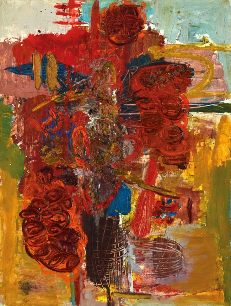 Abstract expressionism Lea Nikel