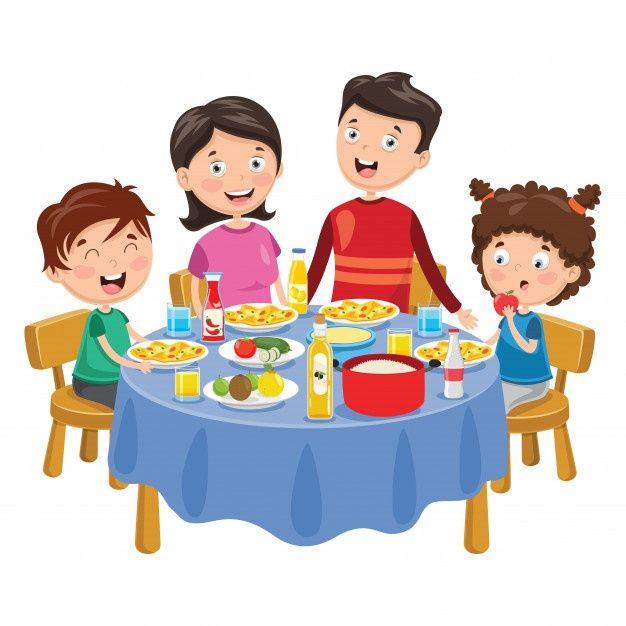 Ilustracion De Familia Cenando Vector Pr Premium Vector Freepik Vector Comida Ninos Familia H Rutina Diaria De Ninos Illustration Dibujos Para Ninos