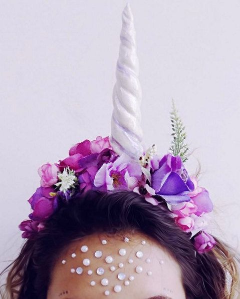 Unicorn Horn for unicorn costume. by saravah on Etsy