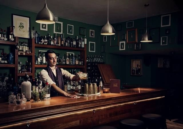 City of London Distillery Bar (C.O.L.D. Bar). Gin lovers, this one's for you. This bar is now managed by the gin distillery itself, with an exclusive gin menu. More on http://bestbars.com/2014/01/21/city-of-london-distillery-bar-c-o-l-d-bar/