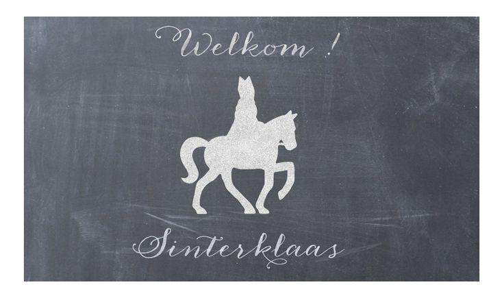 Welkom Sinterklaas ! Hippe Sint decoratie in de shop !