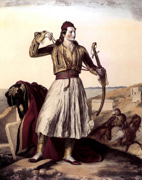 Mavromihalis Dimitris  Maniote warlord.