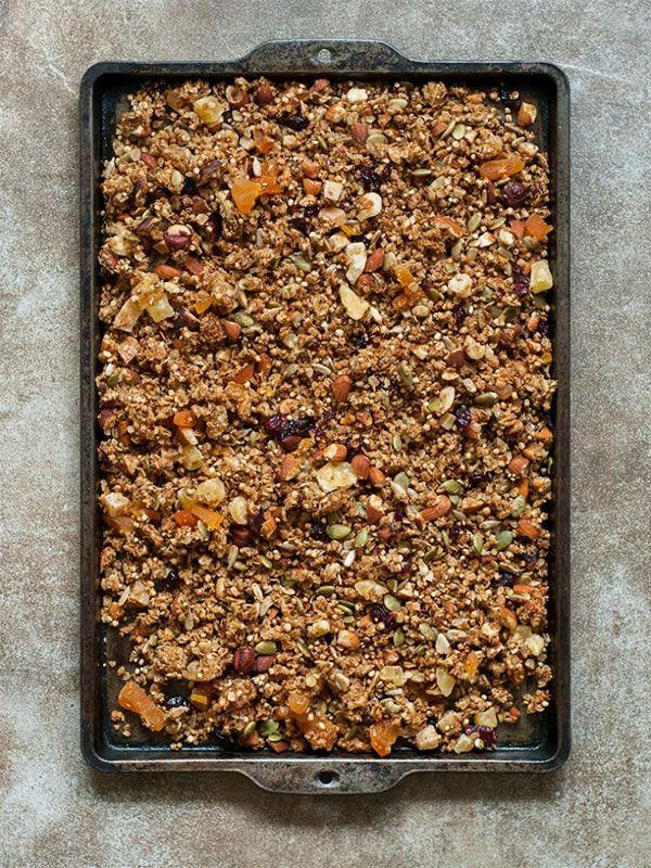 Granola casera | Espacio Culinario