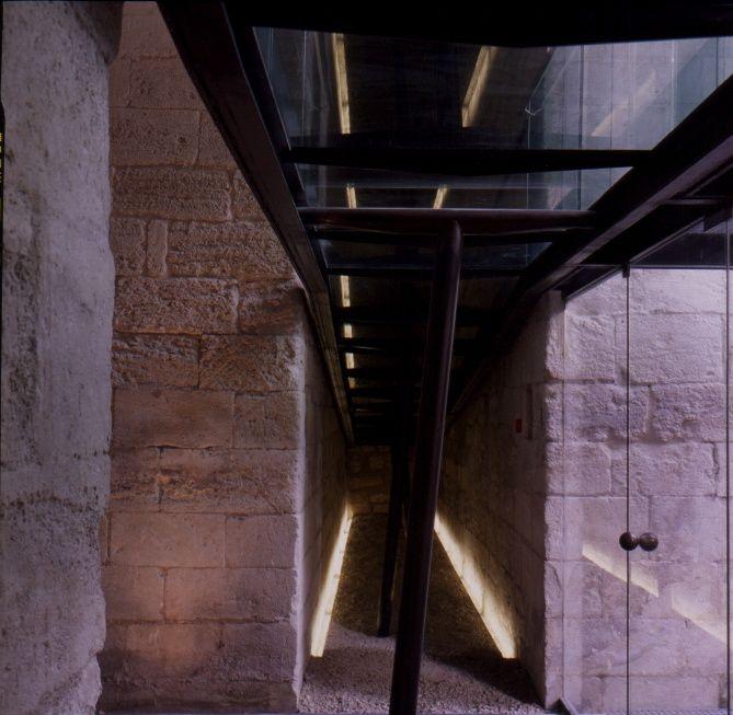 Intervention Bâtiment St Maur Abbaye de Montmajour - Arles – 1996