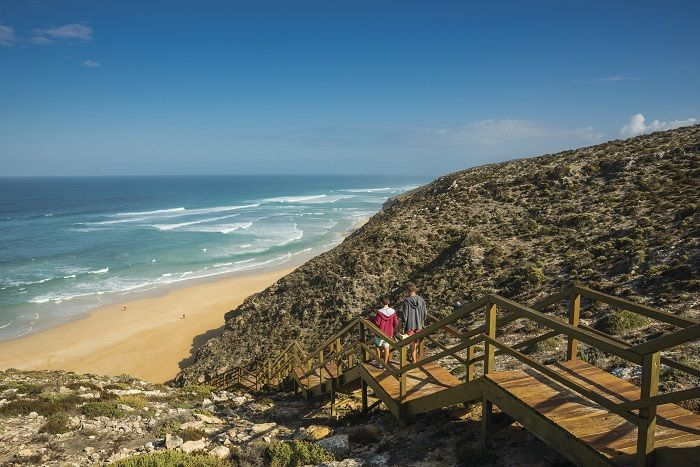 The spectacular coast line of the Eyre Peninsula