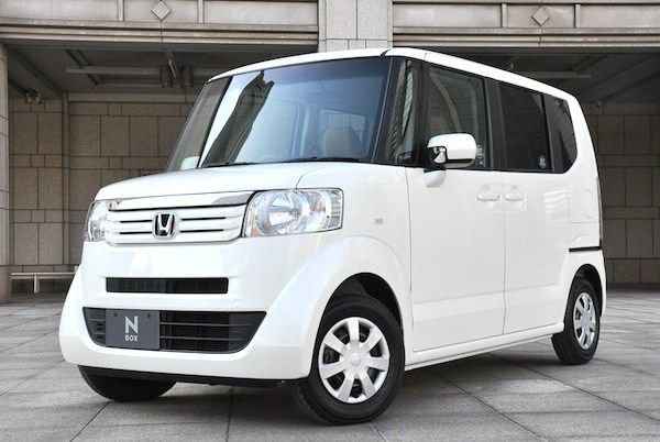 Honda Nbox Japan February 2012 In 2020 Kei Car Honda Concept Cars