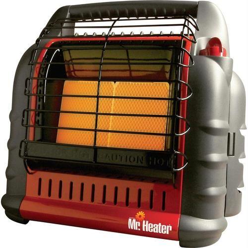 Mr Heater - Buddy 4 Portable Propane Heater 18000 BTU