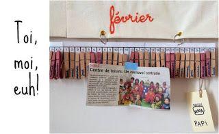 Poutre du temps Montessori réutilisable et DIY
