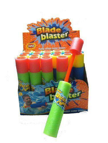 "10"" Mini Eliminator Water Blaster Foam Water Gun (BOX OF TWENTY FOUR) AR Toy"
