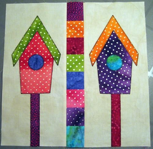 (7) Name: 'Quilting : A Home for the Birds