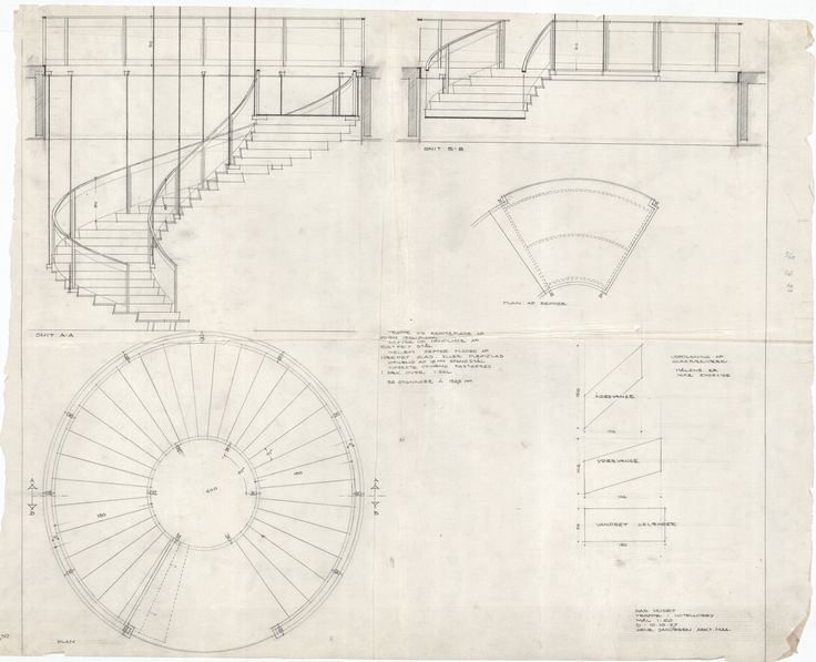 13 best section spiral staircase images on pinterest for Square spiral staircase plans hall