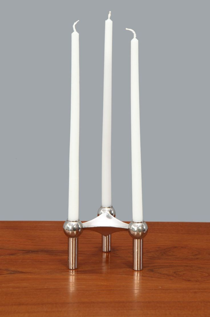 Atomic Candle Holder by Nagel