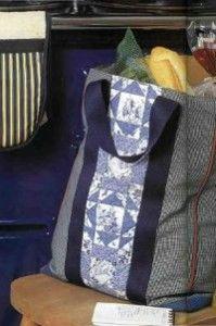 Хозяйственная сумка пэчворк | Лоскутный Миръ