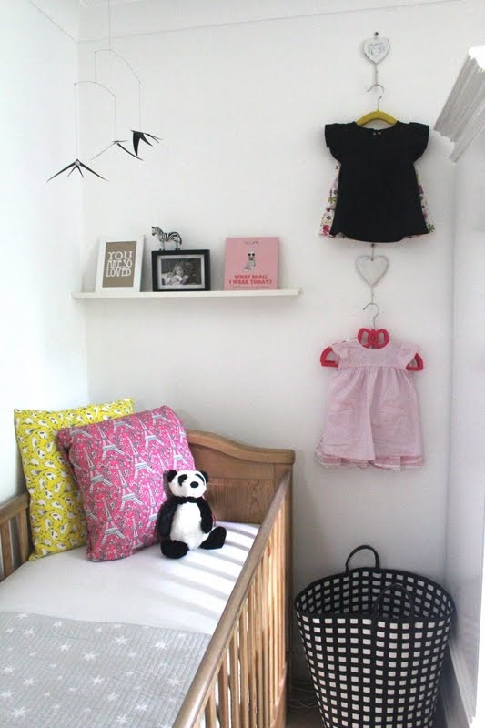 Procrastination Mama: Lola's Nursery ...in our dressing room!