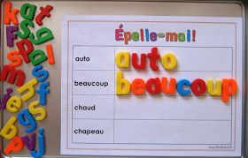 Coups de coeur pédagogiques: Quand mots de vocabulaire riment avec mots de tête...