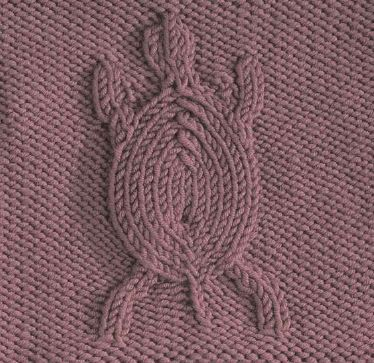 Free Turtle Square pattern from http://www.knitfreepattern.com/listings/turtle-square/.
