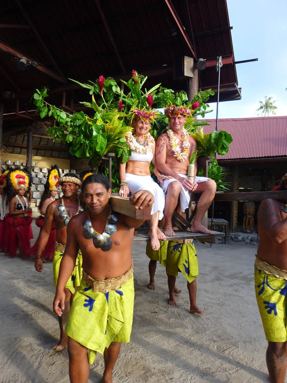 Tahitian Wedding In Moorea At Tiki Village Moorea, French