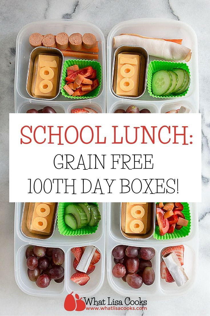 A simple packed lunch for the 100th day of school!  I apparently lost count somewhere (we had some big sickness happen in  January,…