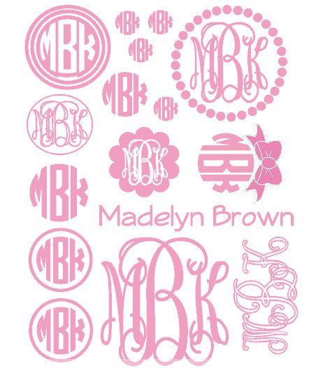 Image result for Free Circle Monogram Fonts Jwn