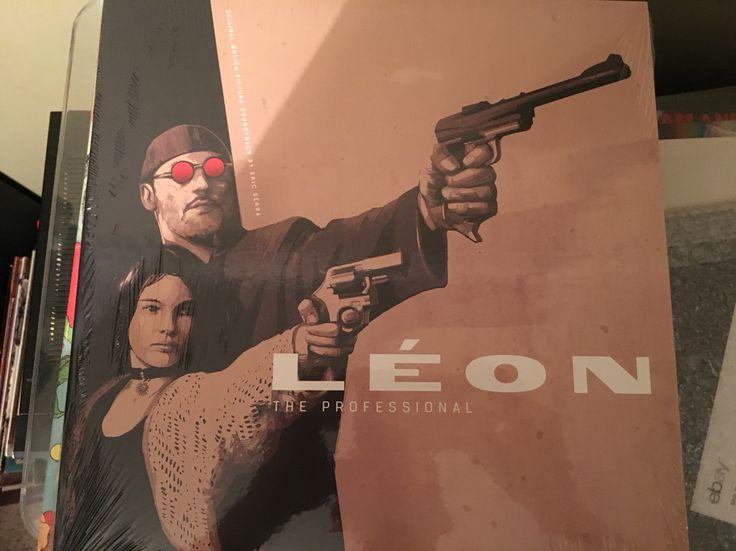 Leon The Professional soundtrack (colored vinyl)