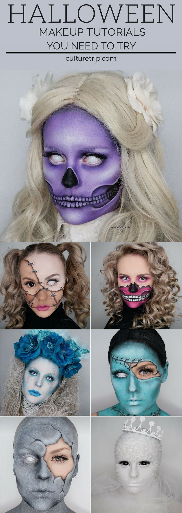 Stop What You're Doing and Check Out These Scary AH Make Up Tutorials