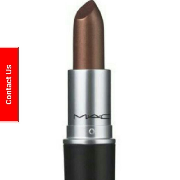 """New Mac frost """"O"""" lipstick metallic bronze New. This was switched once with a sanitized q tip. Color was slightly dark for me. Its a beautiful shimmery gold bronze.  Great moisture. You will love it!  Full size. New in box. May be open to trading for a mac lipstick in a different shade. MAC Cosmetics Makeup Lipstick"""