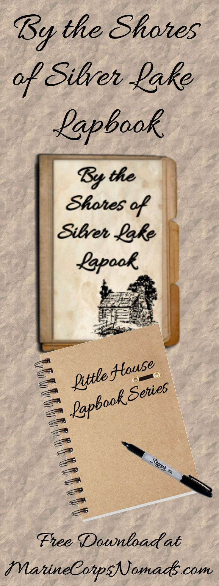 Free By the Shores of Silver Lake Lapbook | Little House Series | Homeschool | Marine Corps Nomads