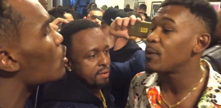 Jermall Charlo and Danny Jacobs get heated as they come face-to-face backstage of Wilder vs Ortiz #News #allthebelts #boxing