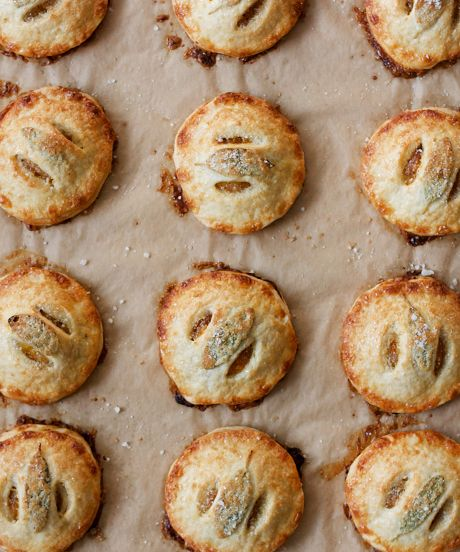 Pumpkin Handpies with Maple and Sage.