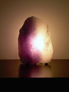 Purple Salt Lamp Awesome Best 18 Salt Lamp Or Fire Bowls Images On Pinterest  Fire Bowls Inspiration Design
