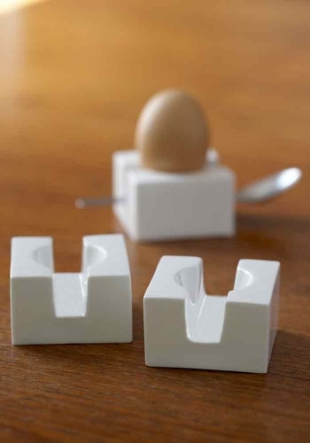 stylish and contemporary egg cup