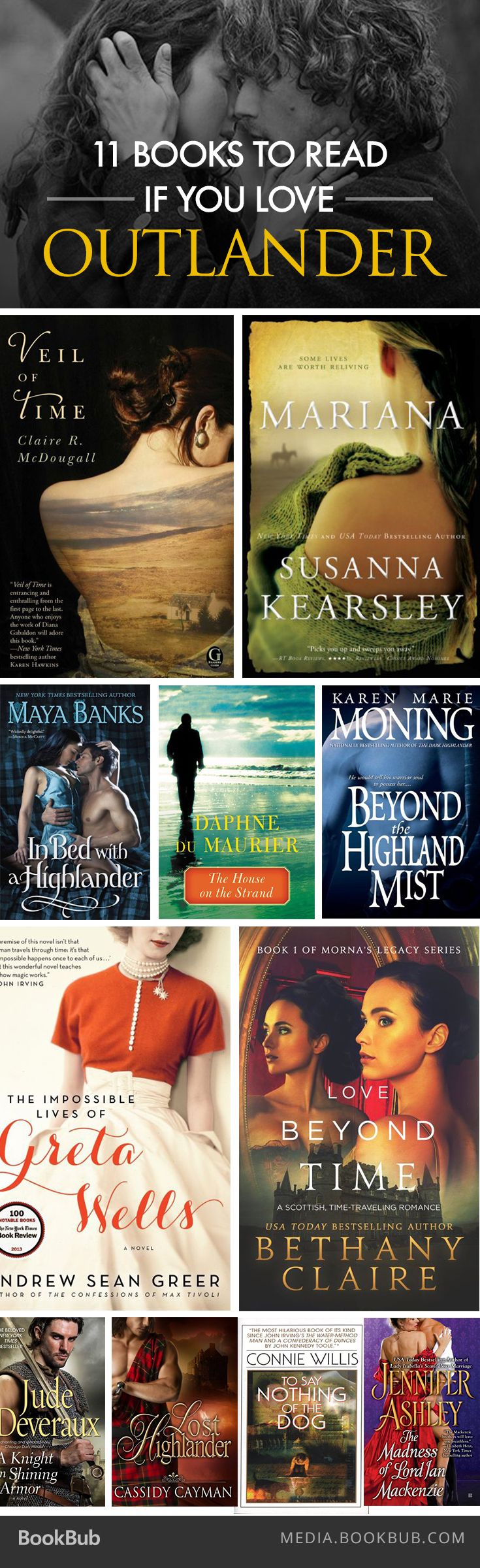 If you can't get enough of Diana Gabaldon's Outlander, check out our list of Scottish time-travel romances.