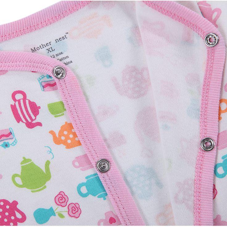 Baby Boy Girl Footies Pajamas Original Cotton Spring Sleepwear 1piece Pja Mother Nest Animal Christmas Coverall. Click visit to buy