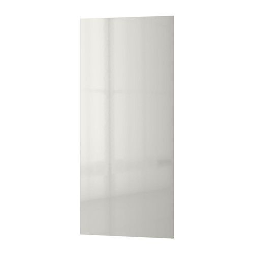 RINGHULT Cover panel High-gloss light grey 39x86 cm  - IKEA