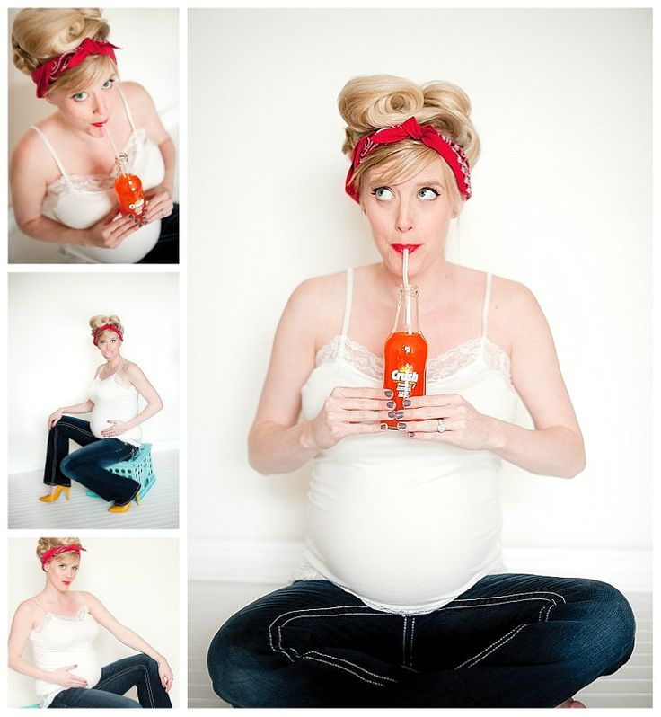 Maternity Session; Pinup Style - Amy Winter