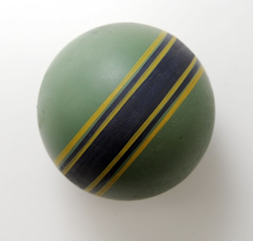 1950s USSR Soviet Russia RUBBER BALL Vintage Russian Toy.