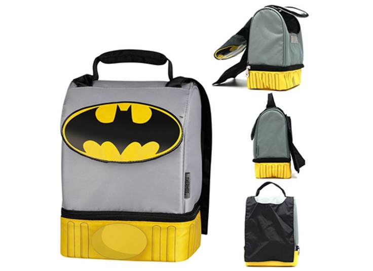 Batman Lunch Box With Built-In Cape